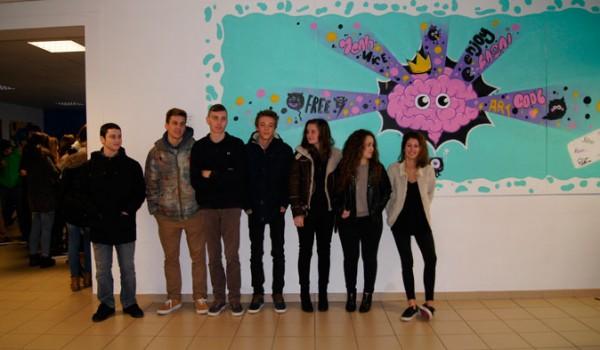 Inauguration fresque - janvier 2015 - 1